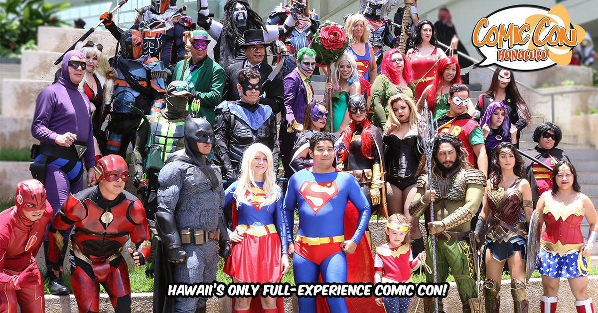 87e400166 Home - Comic Con Honolulu