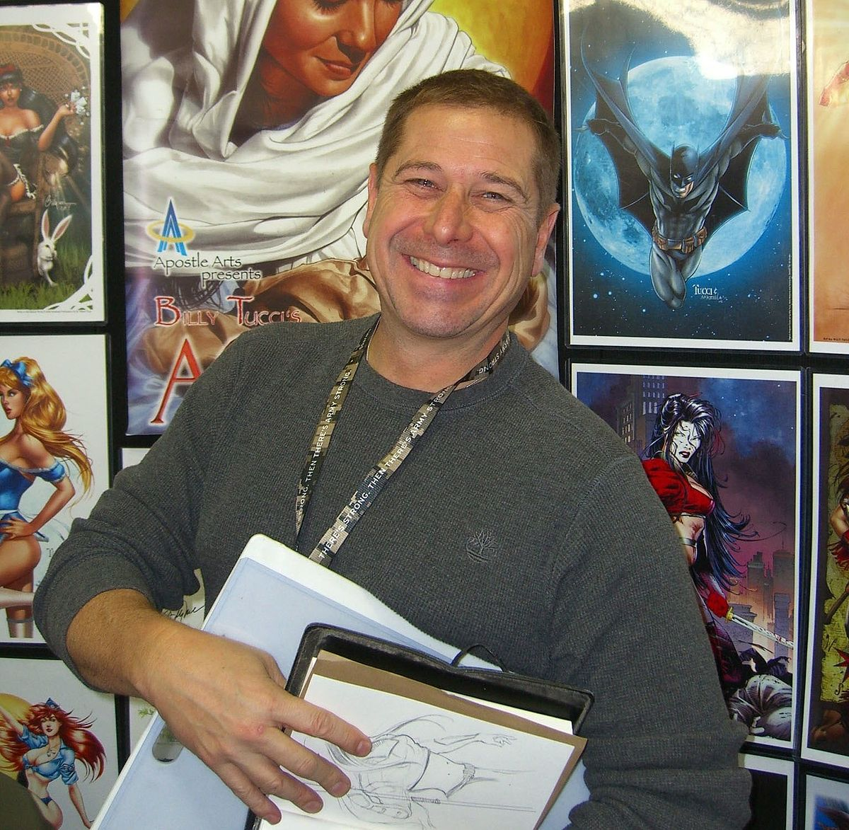 Billy Tucci is coming to Hawaii's best comic con